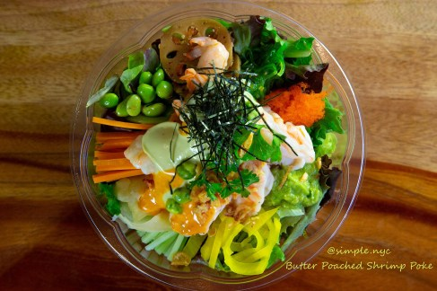 Butter Poached Shrimp Bowl